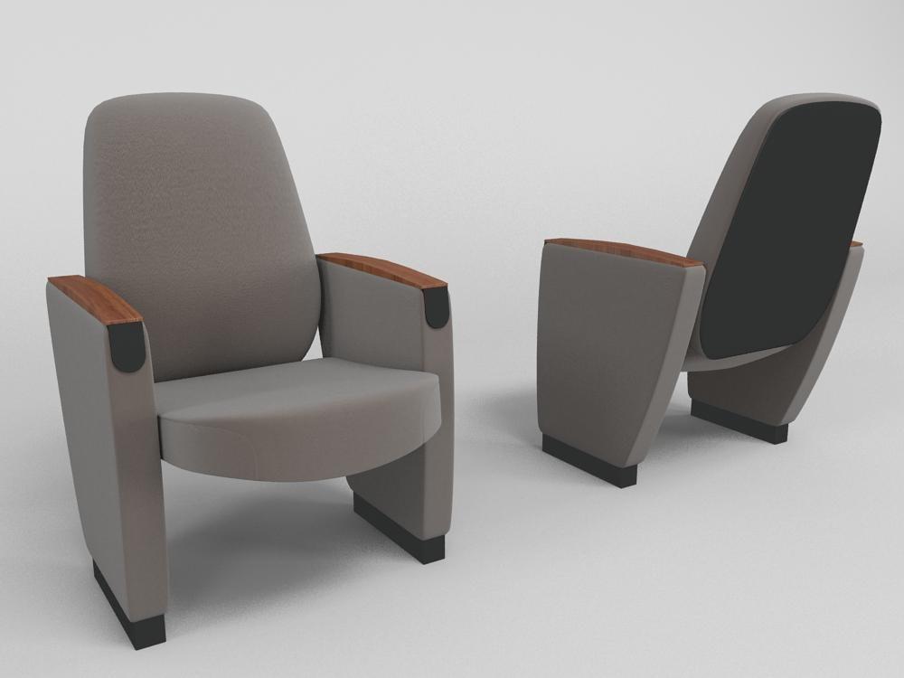 3d model chair poltrona