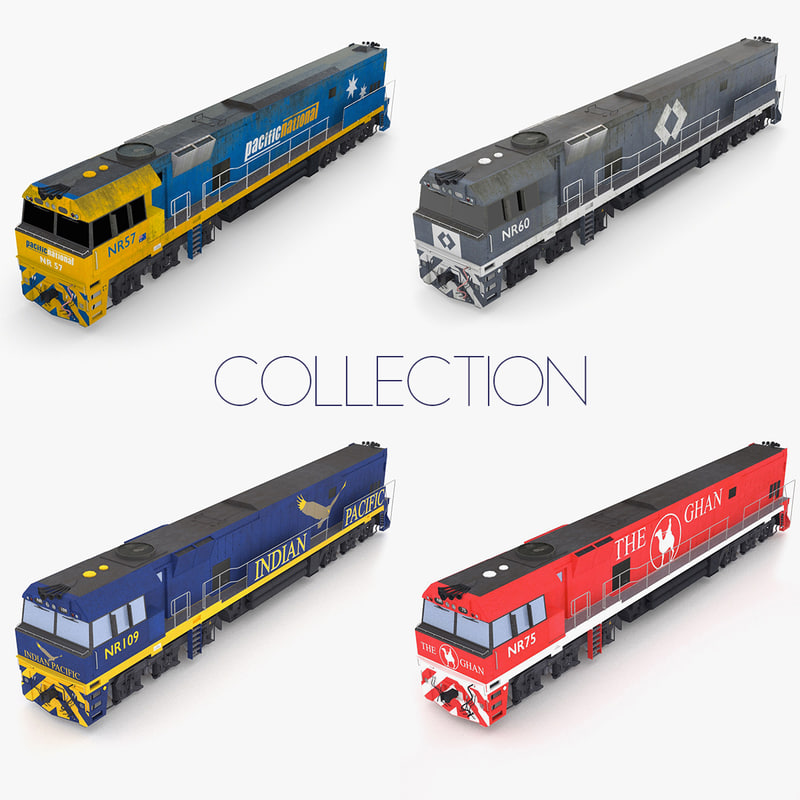 australian train class nr 3ds