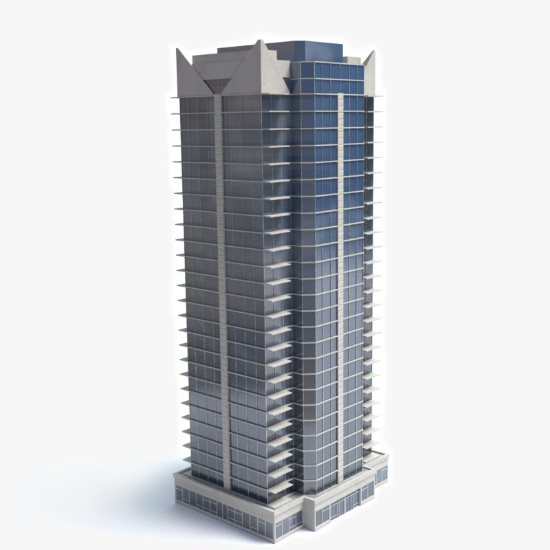 3d model skyscraper building Build house online 3d free