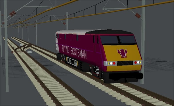 dvt hst set east coast 3d model