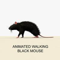 black mouse animations c4d