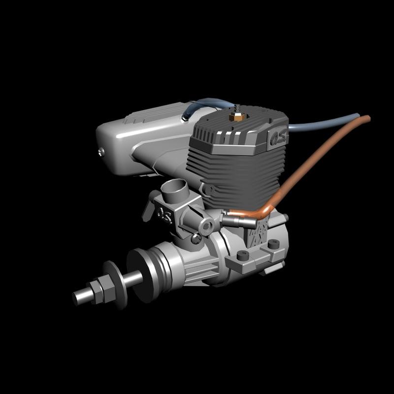 engine o 3d max