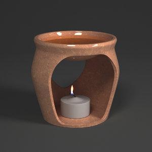 3d model scented oil burner