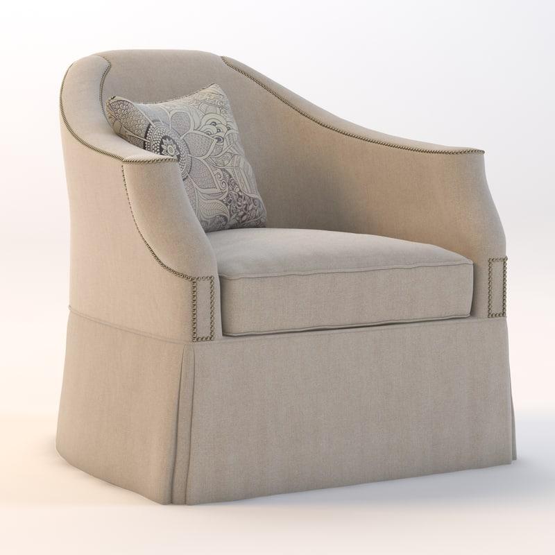 eton chair 3d max