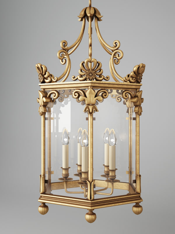 vaughan repton hall lantern 3d model