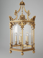 vaughan repton hall lantern 3d model