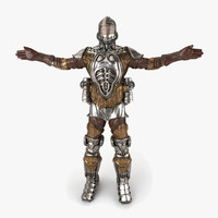 sci-fi armor 3d max