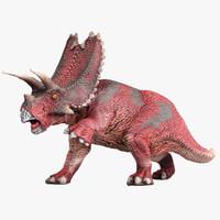 pentaceratops animation 3d obj