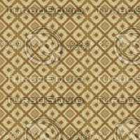Abstract Brown Kaleidoscope Pattern