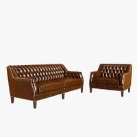 3dsmax sofa bespoke custom chair