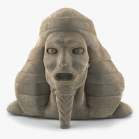 Pharaoh Head Statue
