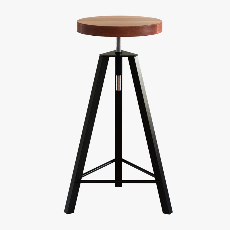 3d stool byron spinner spin