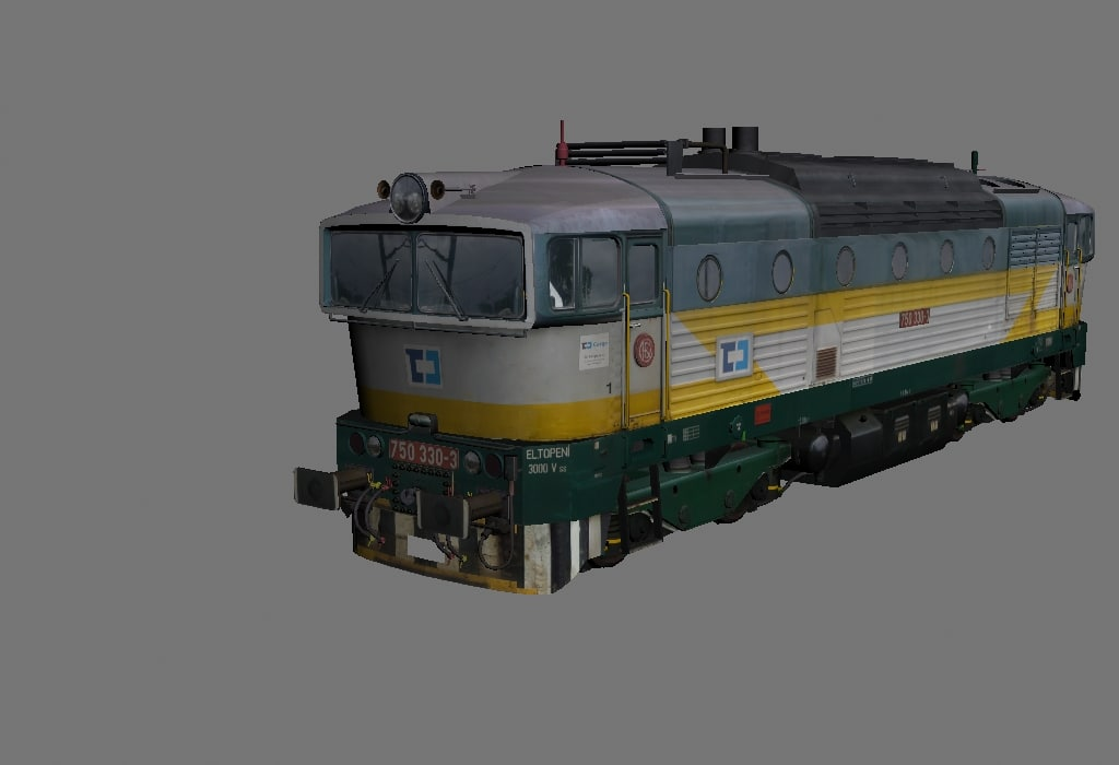 3dsmax 750 diesel 753