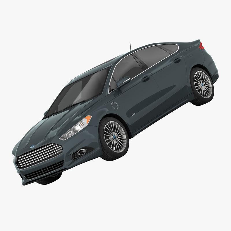 3d Fusion Energi Se Sedan