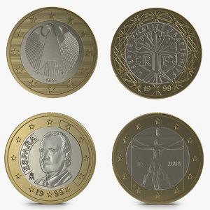 max 1 euro coins