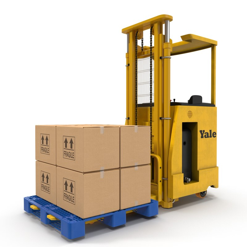 rider stacker yellow pallet 3ds