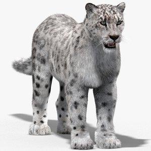 max snow leopard fur