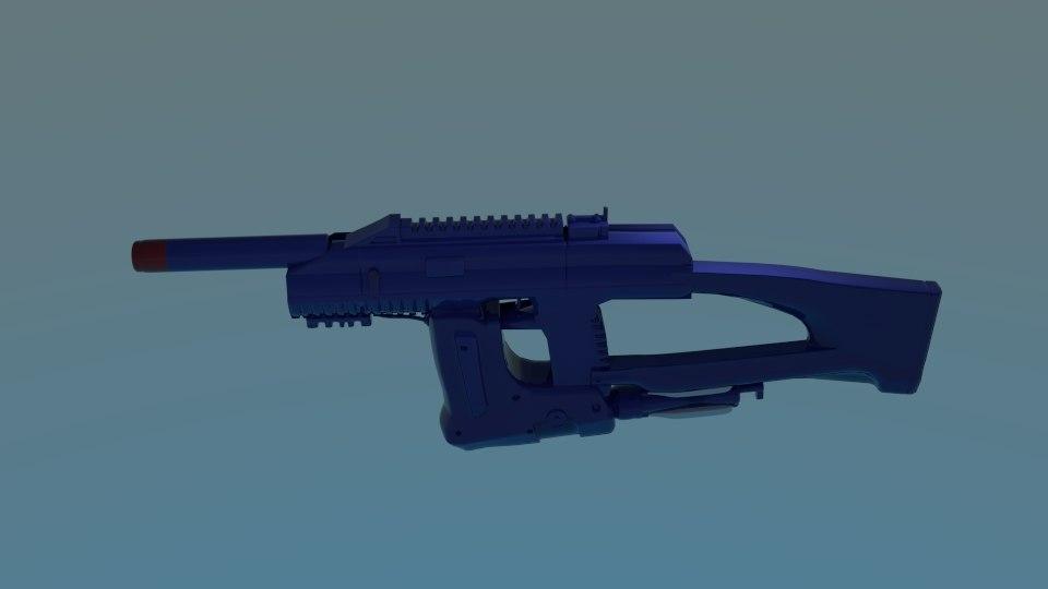 space rifl 3d model