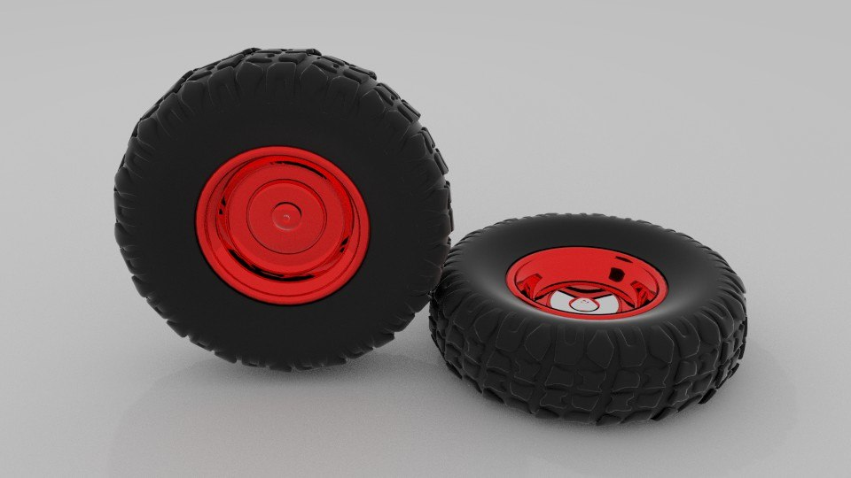 offroad wheel 3d 3ds