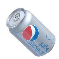 Pepsi Light Can