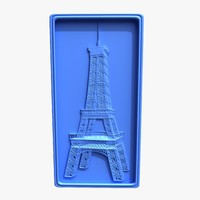 Eiffell Tower Bas-Relief
