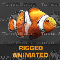 3d fish animation