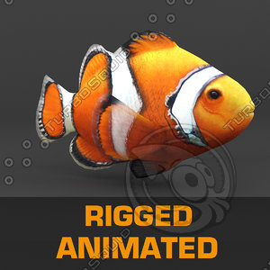 3d fish animation