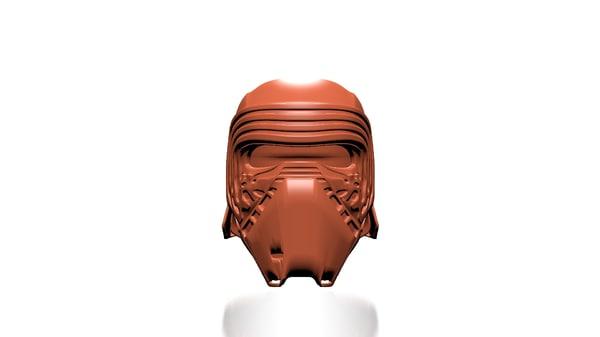 3d model kylo ren helmet