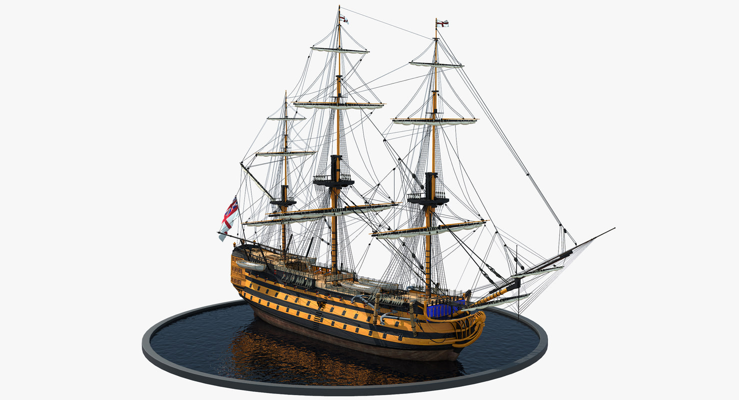galleon prop model
