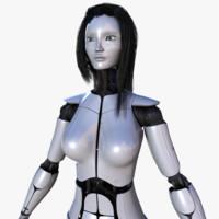 Female Robot Pro [Not Rigged]