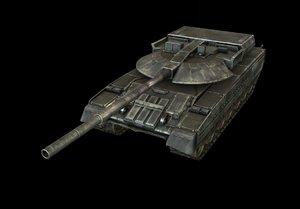 tank blackeagle 3d model