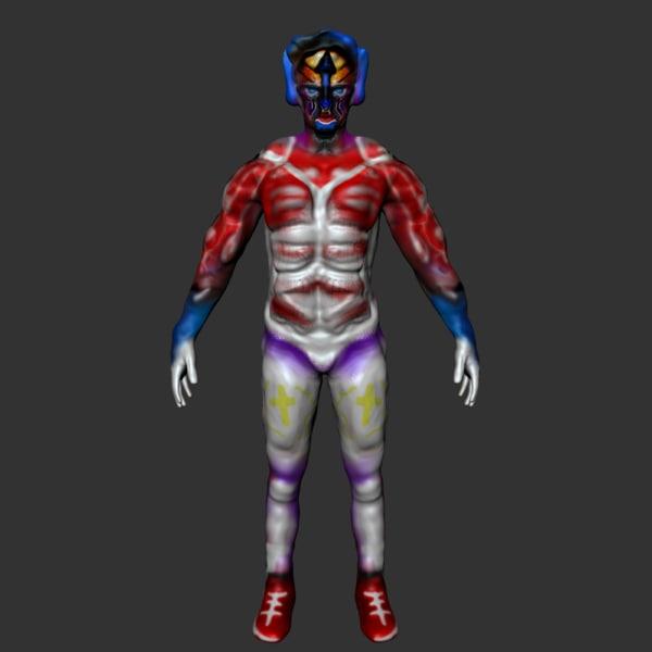 character hero 3d x