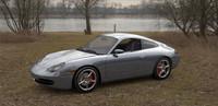 3d porsche 996 model