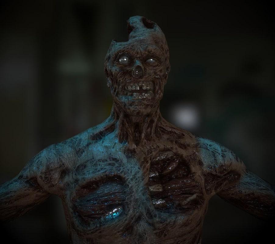 mummy 3d obj