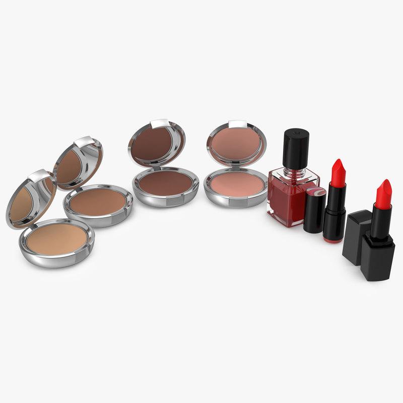 cosmetics fingernail polish c4d