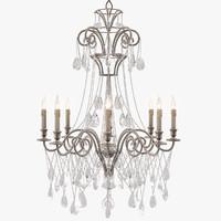 3dsmax currey company lillian chandelier