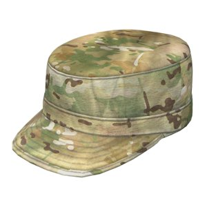 army patrol cap multicam 3d model