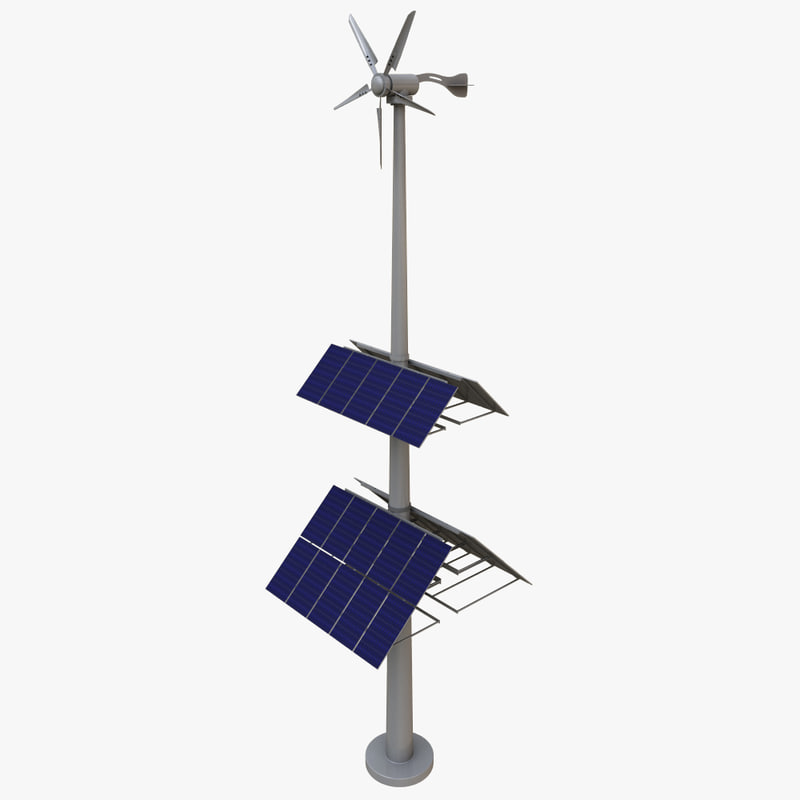 wind turbine solar panels max