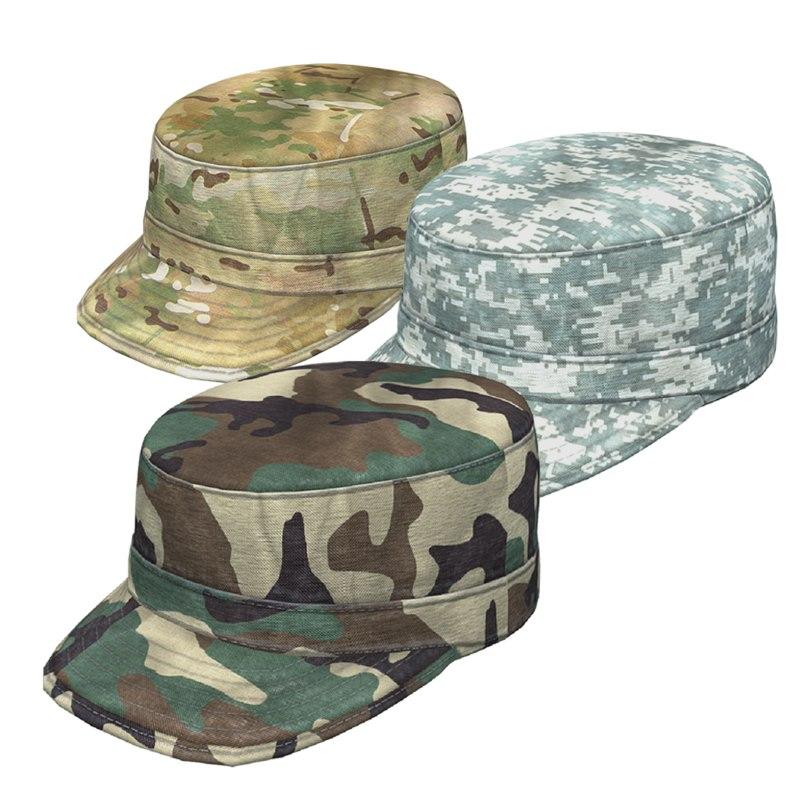 army patrol cap set obj