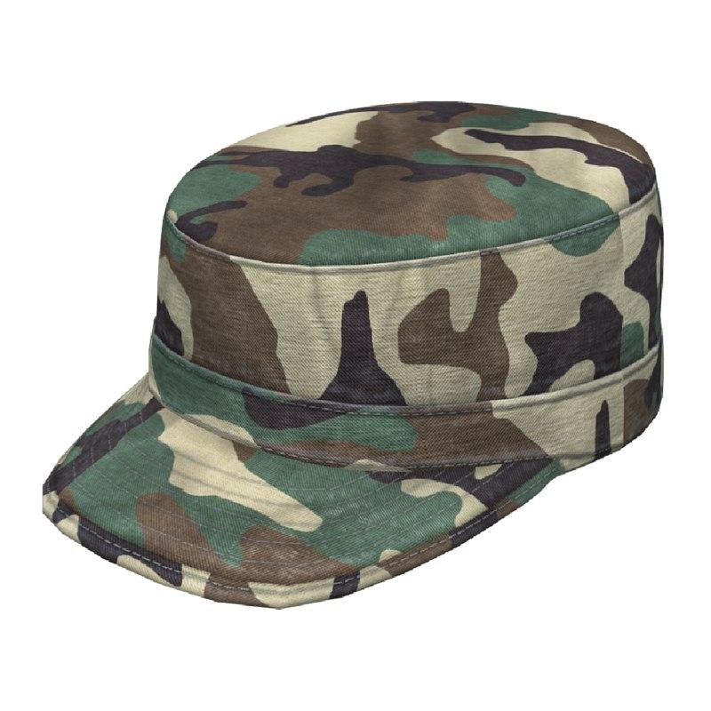 3d army patrol cap woodland