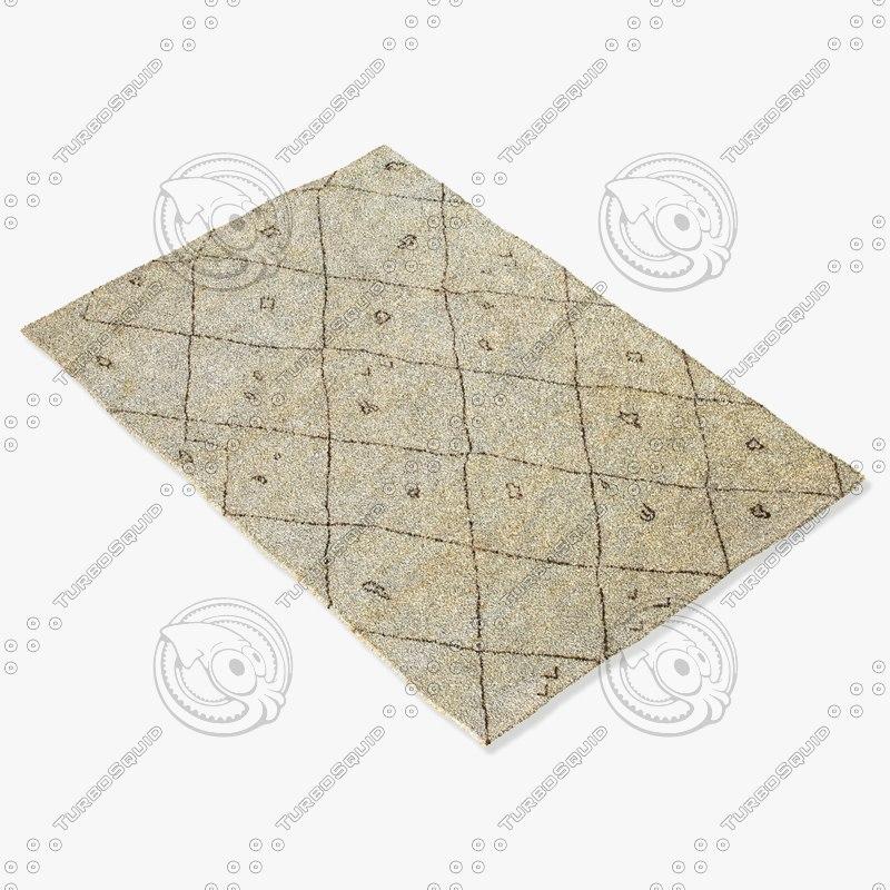 amara rug moroccan 9053 3ds