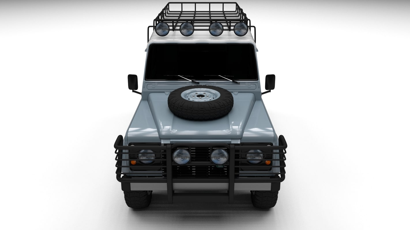 3ds max land rover defender 110