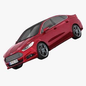 3d model mondeo sedan