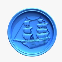 Ship  bas-relief