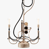 steampunk pendant light max