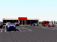 3d model car shop