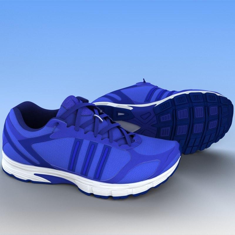 sport shoes - 3d max