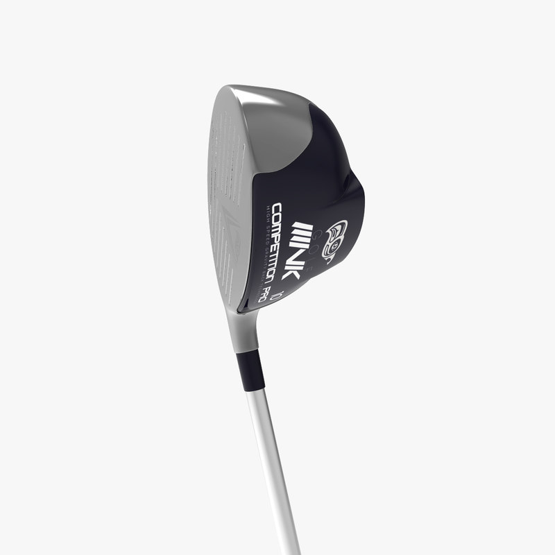 3d model golf club drive