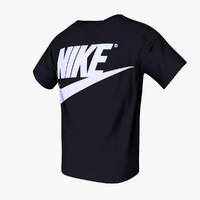 3d nike tshirt model