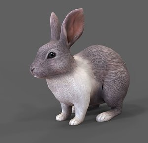 rabbit fbx